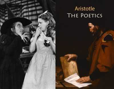 Aristotle by Jusepe Ribera and still from The Wizard of Oz