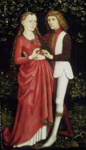 A Bridal Couple, anonymous, ca. 1470, Cleveland Museum of Art