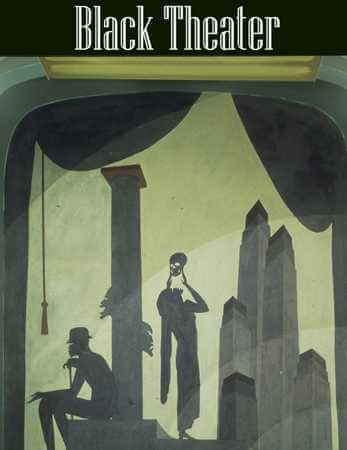 Drama, Aaron Douglas, Cravath Building Murals, 1930, Fisk University, Nashville