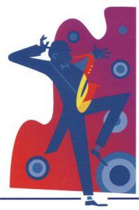 NEXUS illustration of jazzman by Brad Marks
