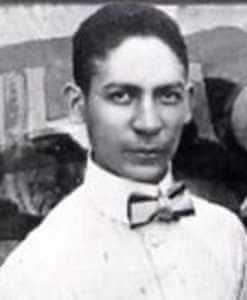 Photograph of Jelly Roll Morton