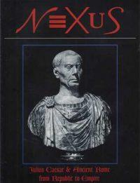 Julius Caesar bust, Museo Capitolino, Rome; NEXUS Julius Caesar and Ancient Rome cover