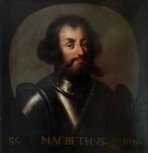 Macbeth, King of Scotland, by Jacob Jacobsz de Wet II, 1697, Palace of Holy Rood House, Royal Collection Trust