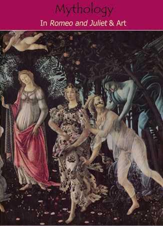 Detail from Primavera, Sandro Botticelli, ca. 1486, Uffizi Gallery, Florence