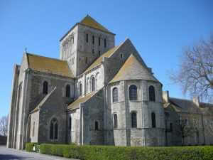 Sainte-Trinité, Lessay Abbey, Normandy